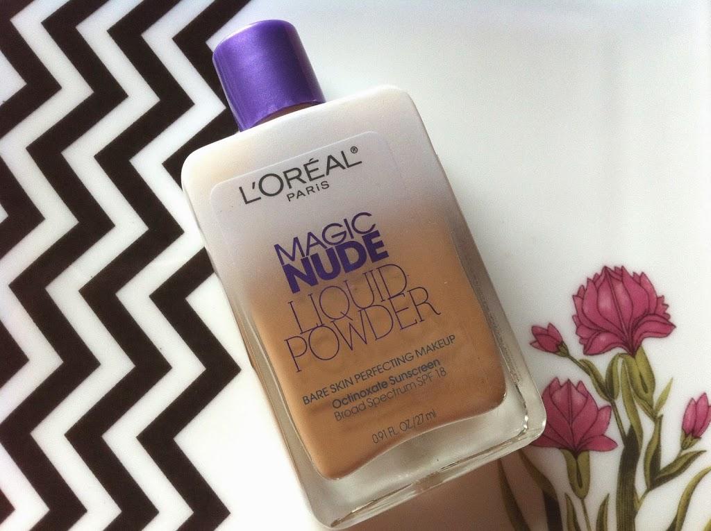 Loreal Paris Magic Nude Liquid Powder Bare Skin Perfecting Makeup 328 Sun Beige 0.91 FL Oz for