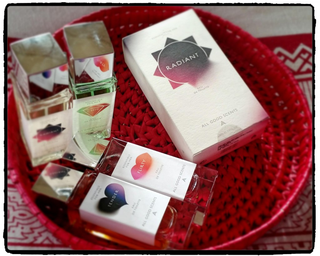 All Good Scents Essentials For Her Perfume Range