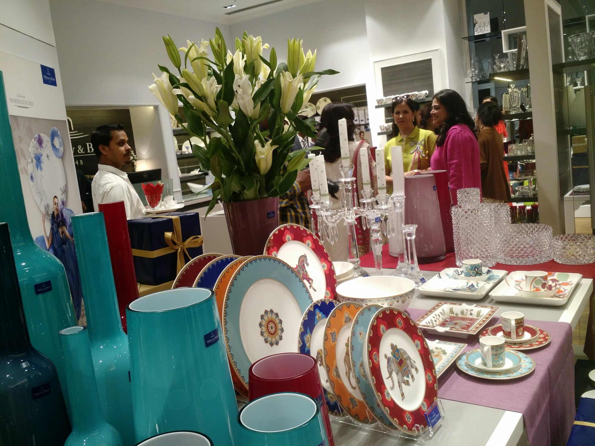Launch of new villeroy boch tableware store in kolkata - Villeroy y bosch ...