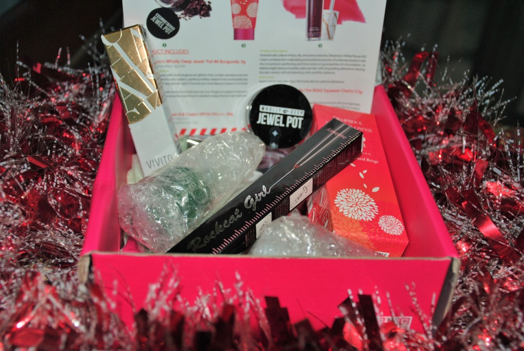 Memebox Christmas Holiday Glam Box