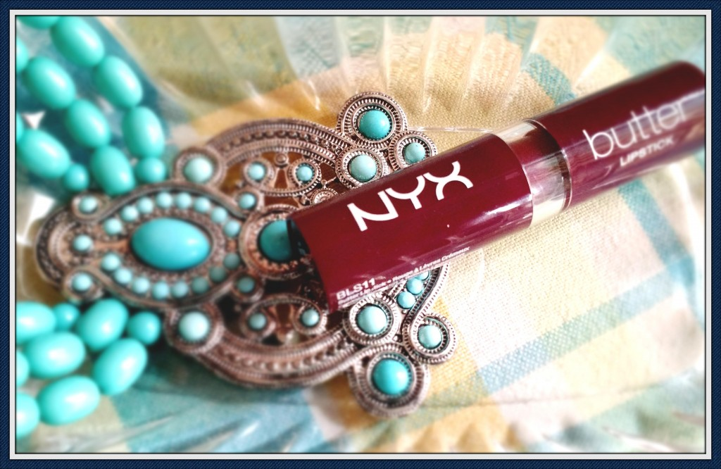 NYX Butter Lipstick Licorice