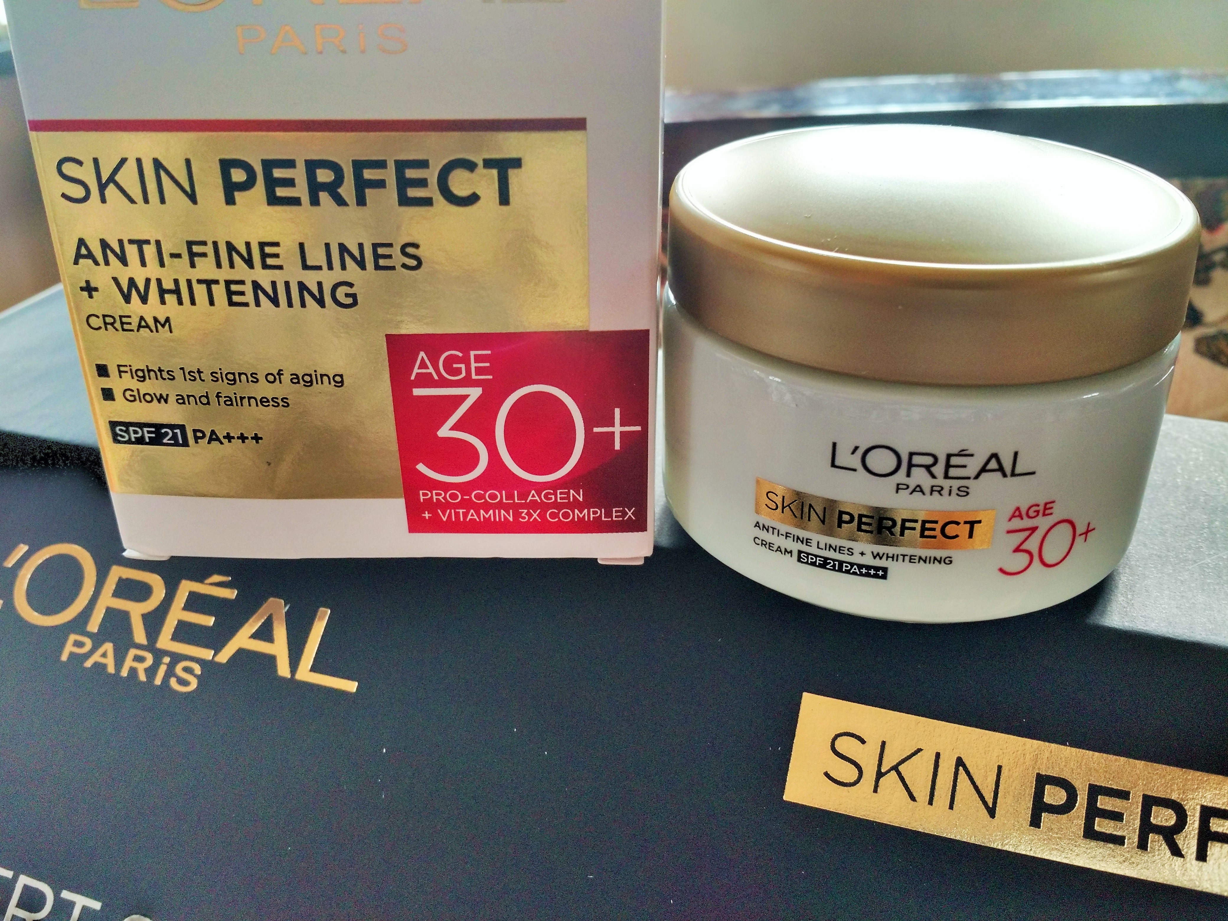 L'Oreal Paris Anti Fine Lines + Whitening Cream