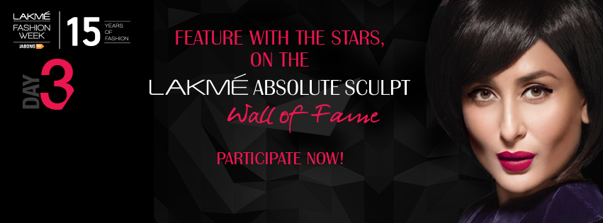 Lakme Sculpt Wall of Fame