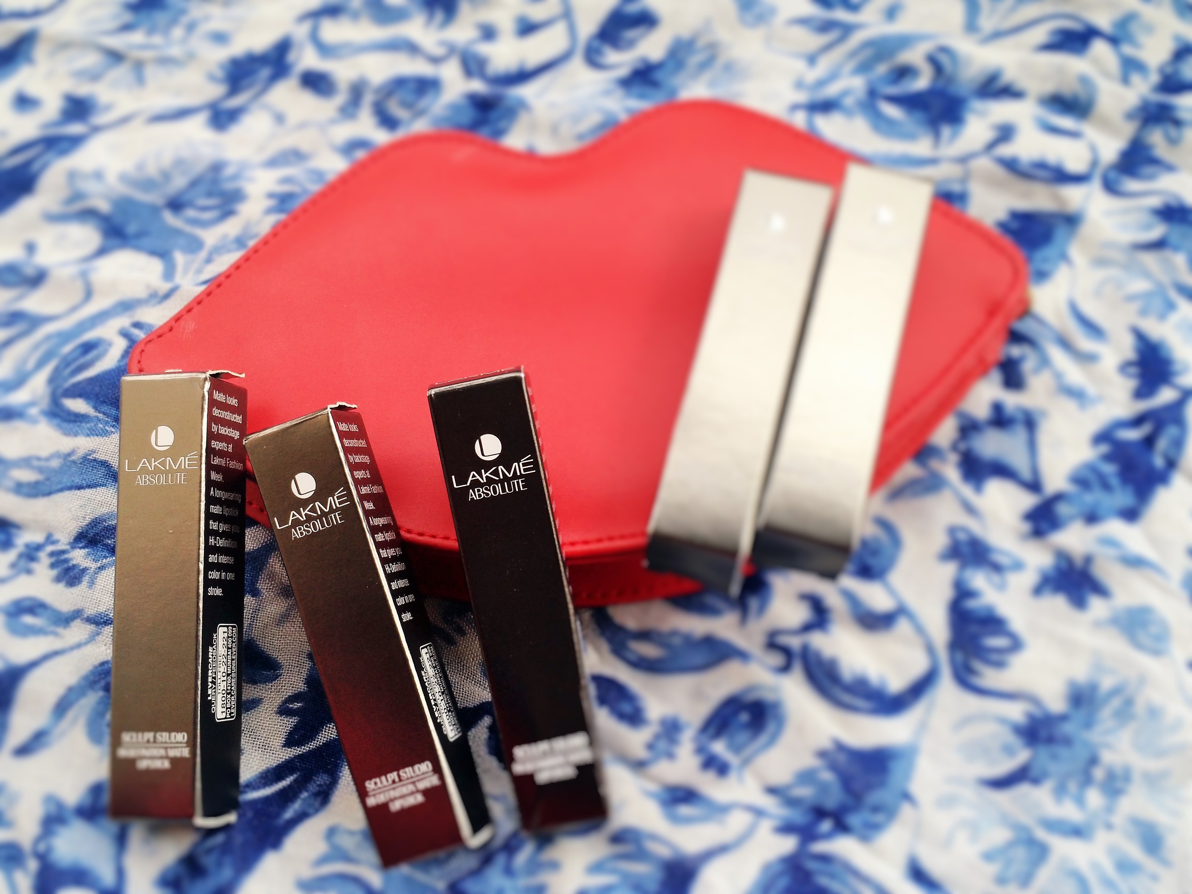 Lakme Sculpt Lipstick Swatches