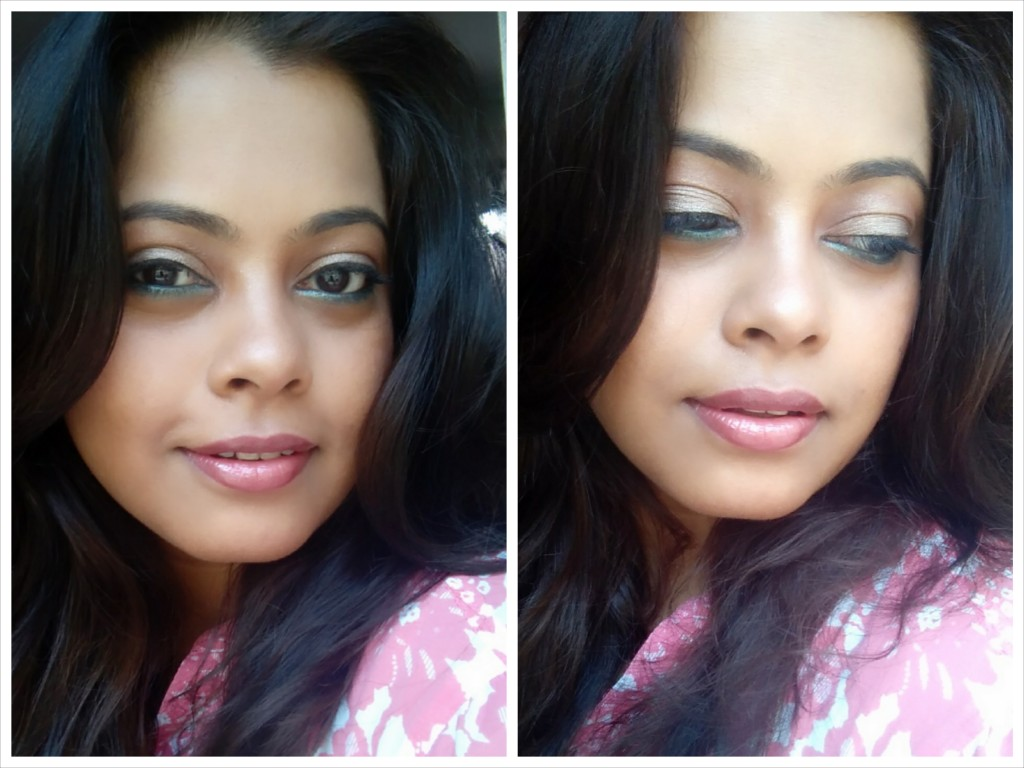 Summer Shimmery Makeup Look Using Sigma Beauty Products