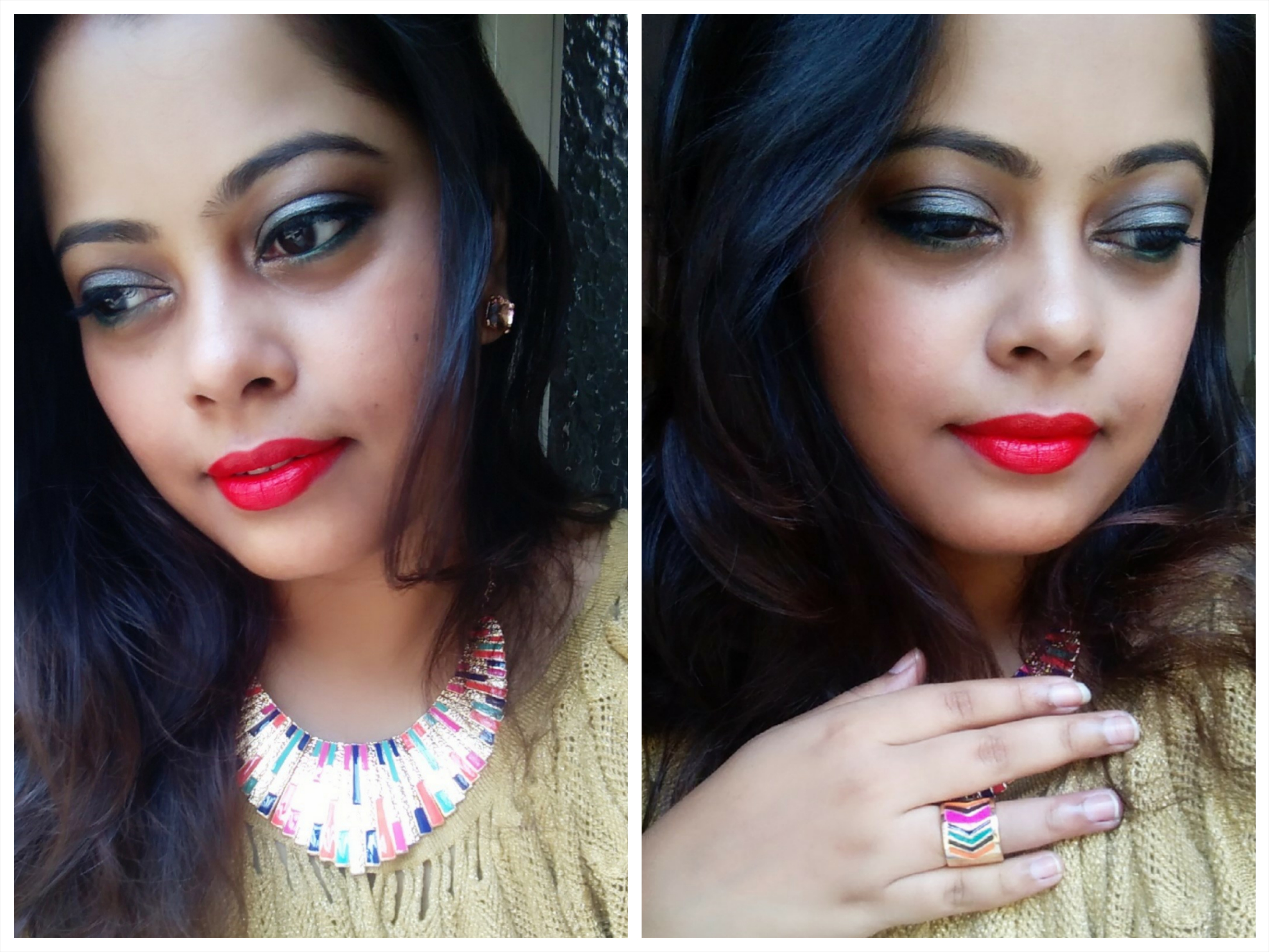 Estremamente Orange Makeup Look Featuring MAC Lady Danger & Jewelry From  DG39