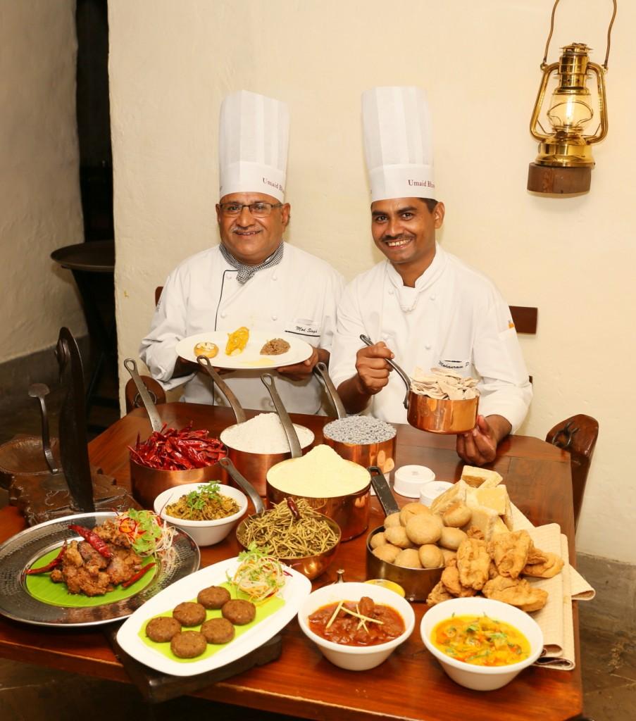 Chef Sisodia & Chef Prajapat at Taj Bengal