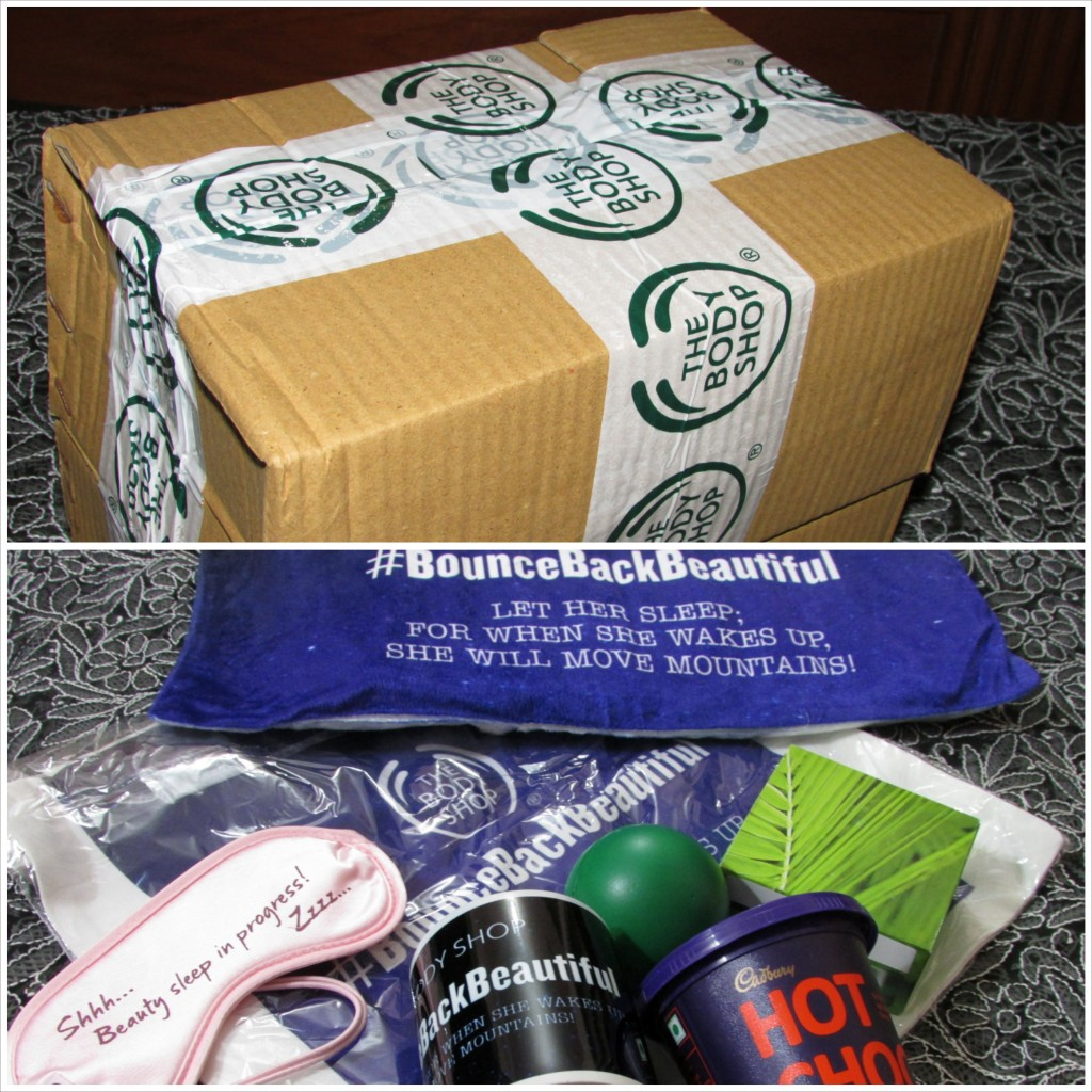 The Body Shop Sleepover Products