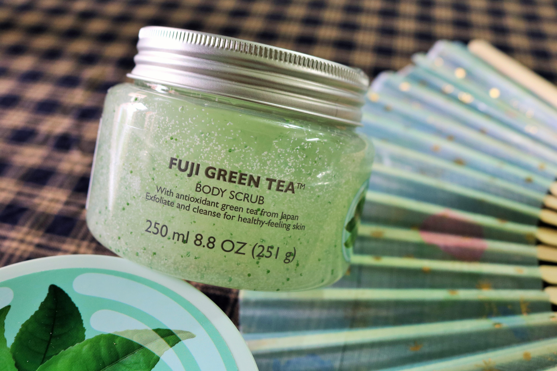 TBS Fuji Green Tea Body Scrub