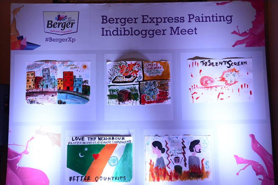 Indiblogger BergerXP Meet
