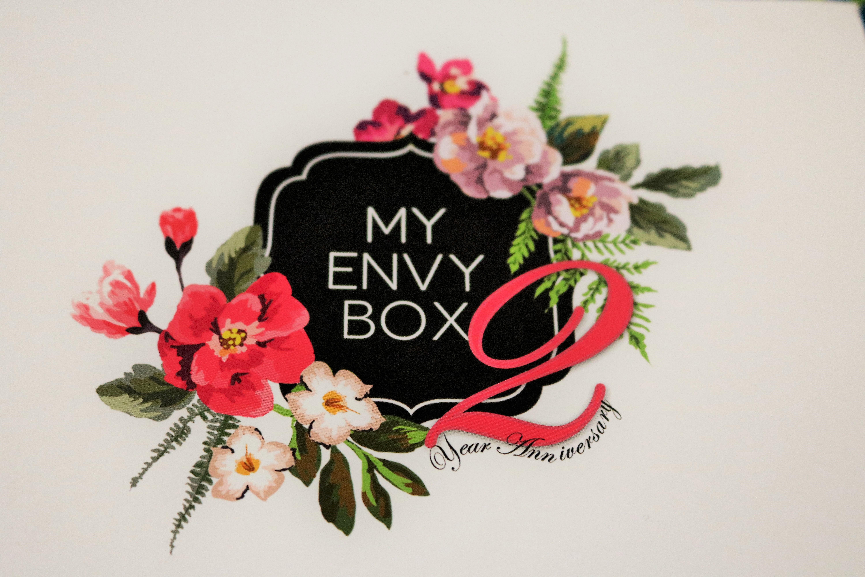 My Envy Box 2nd Anniversary Box