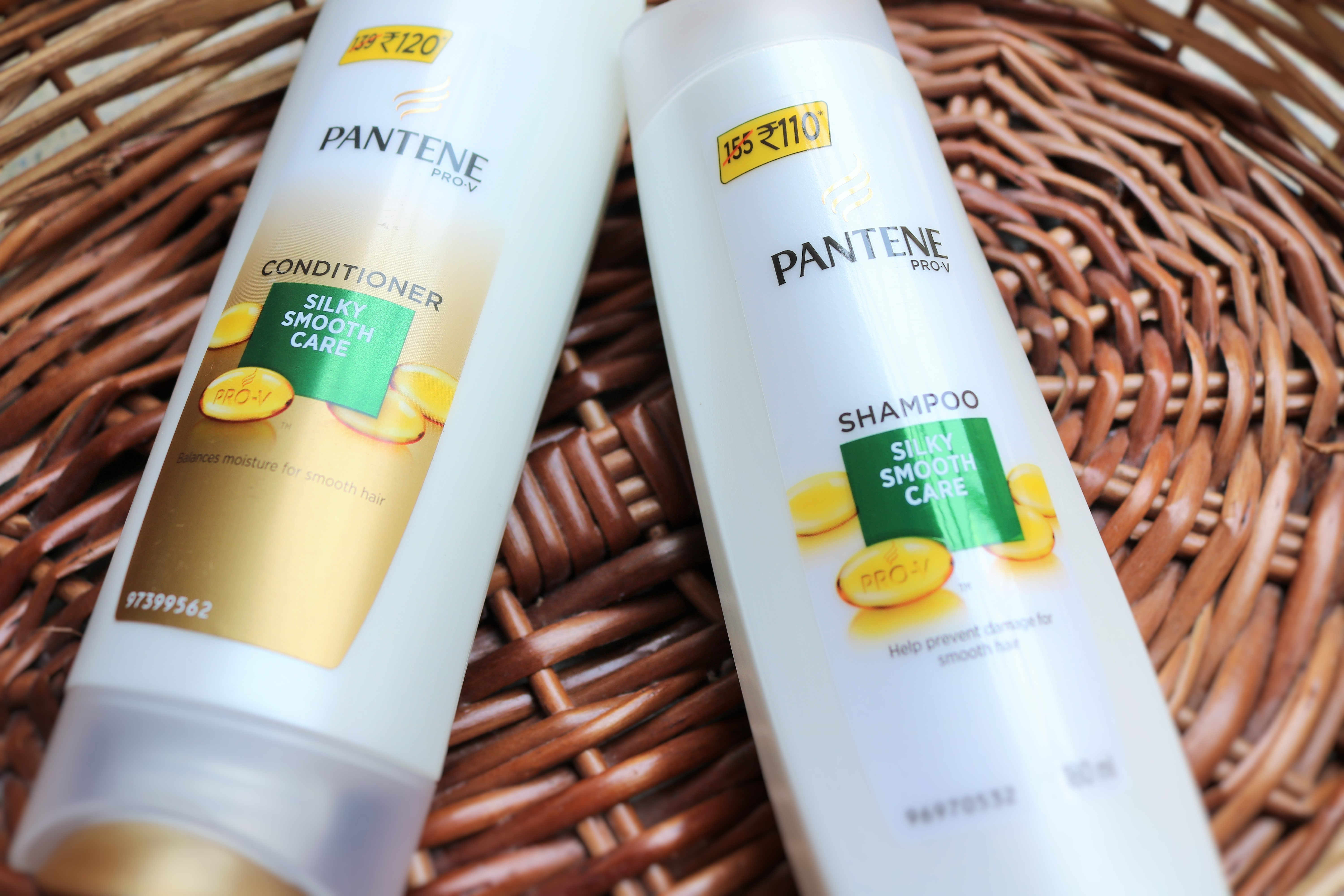Pantene Pro-V Silky Smooth Care Shampoo and Conditioner