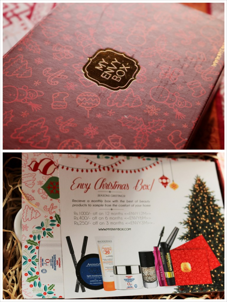 My Envy Box Dec 2015