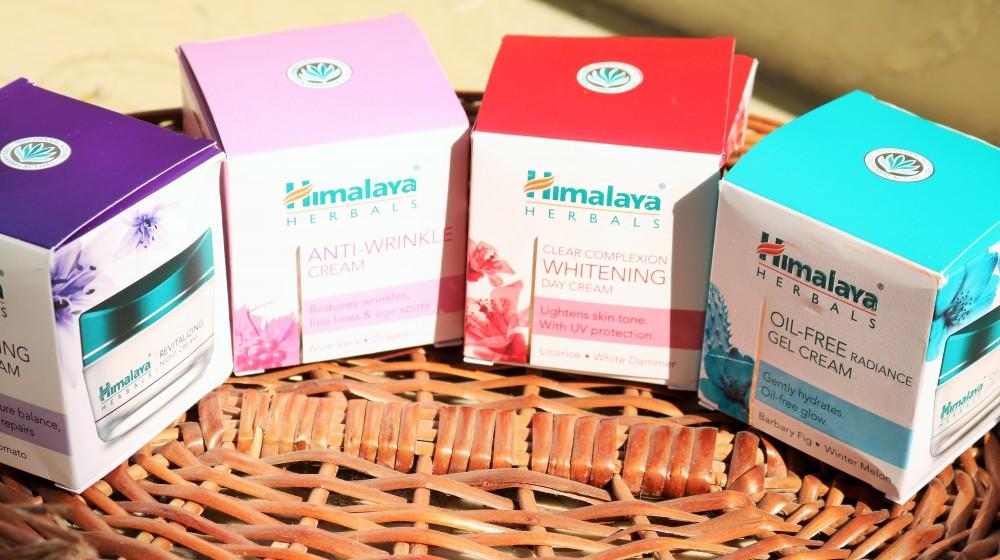 Himalaya Herbals premium skincare cream range