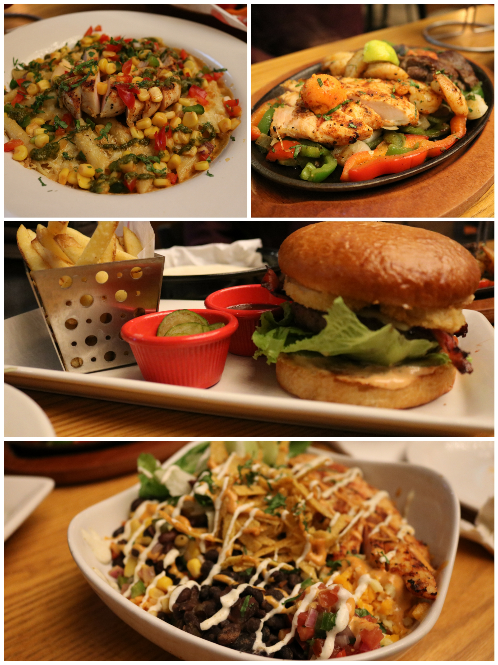 Chilis at acropolis mall kolkata pout pretty for Acropolis cuisine menu