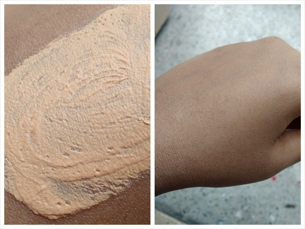 Lakme 9to 5 Weightless Foundation Swatch