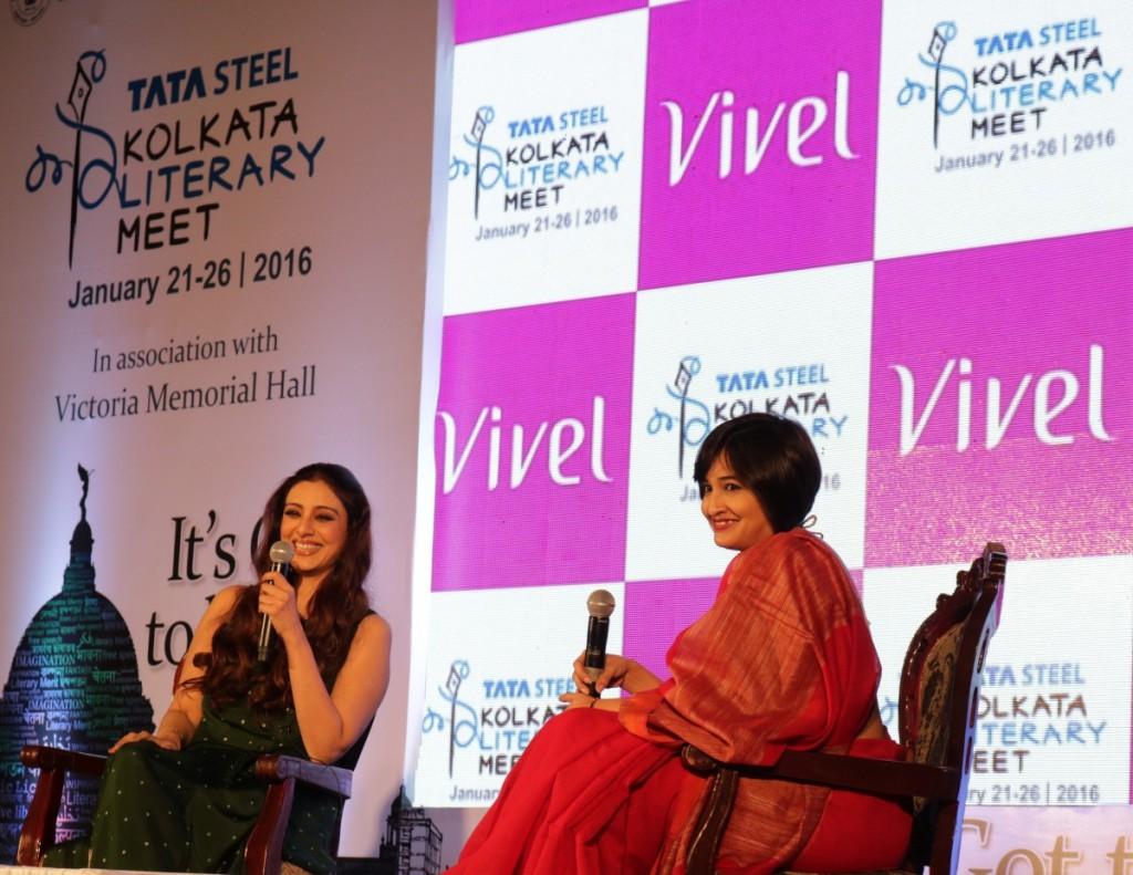 Tabu at Kolkata Literary Meet, 2016