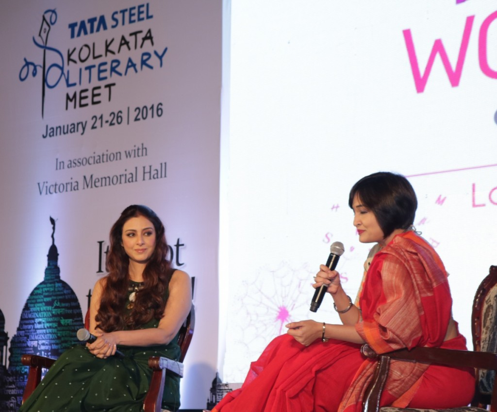 Tabu at Kolkata Literary Meet 2016