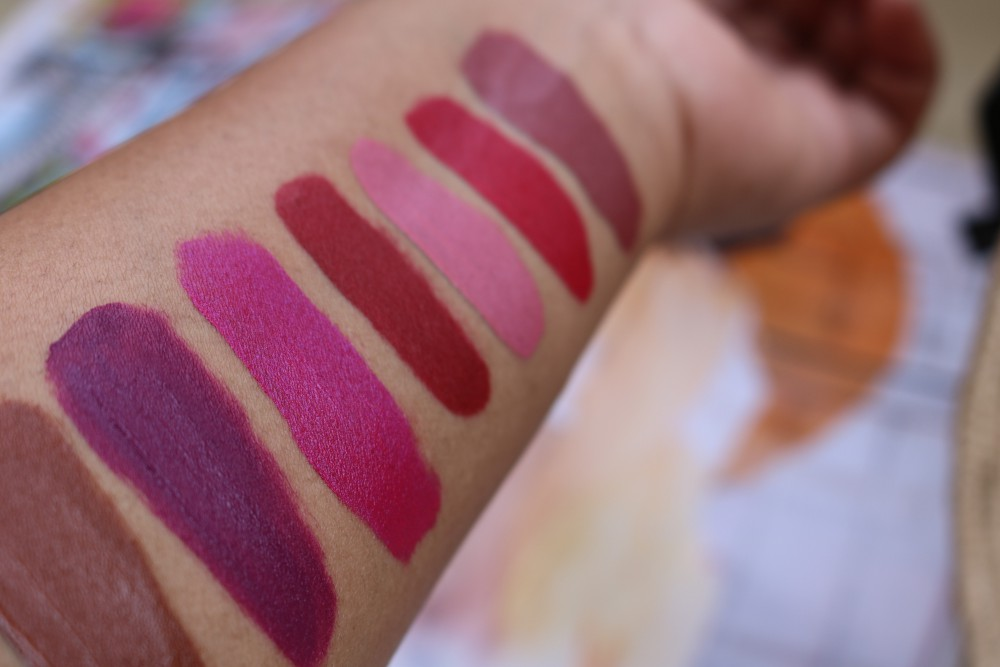Colourpop Ultra Satin Swatches 2
