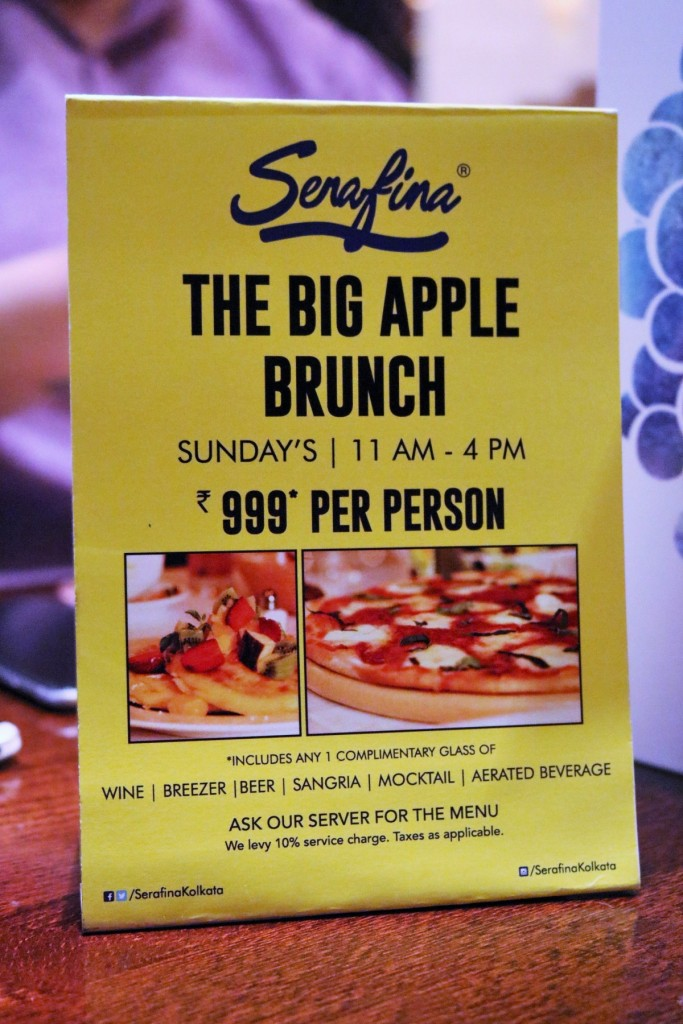 Serafina Big Apple Brunch