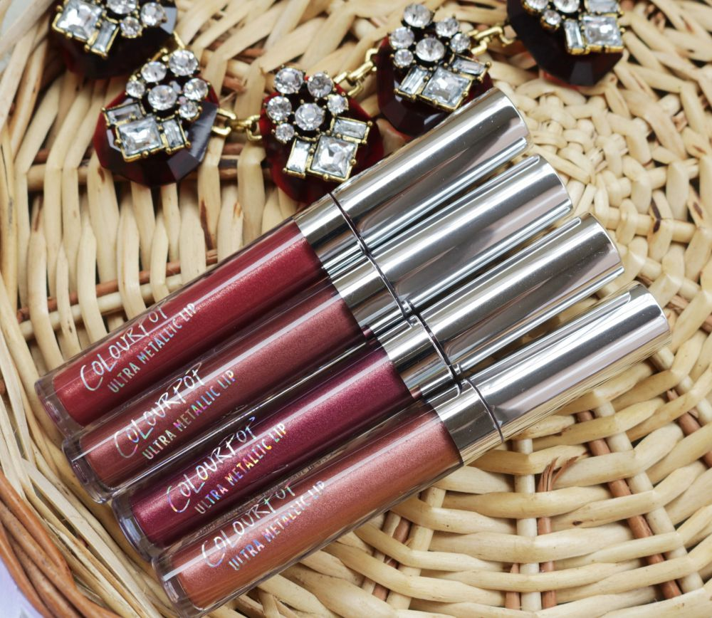 ColourPop Ultra Metallic Liquid Lipsticks