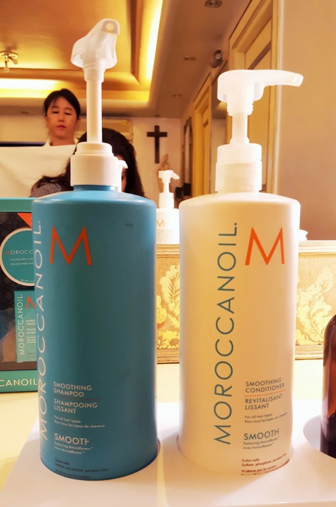 Moroccanoil Smoothing Shampoo and Conditioner