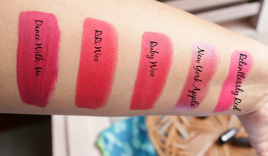Top 10 MAC Red Lipstick Swatches
