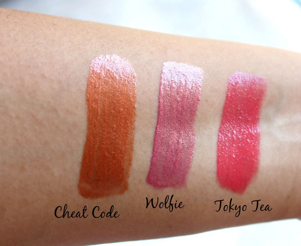 Colourpop Ultra Glossy Lips Swatches