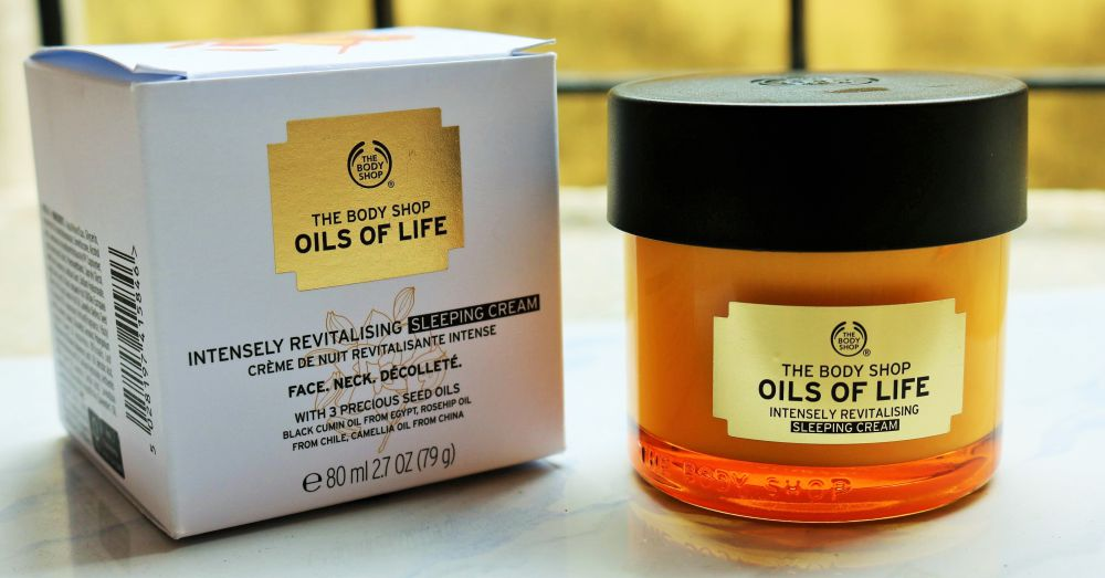 Oils of Life Intensely Revitalizing Sleeping Cream