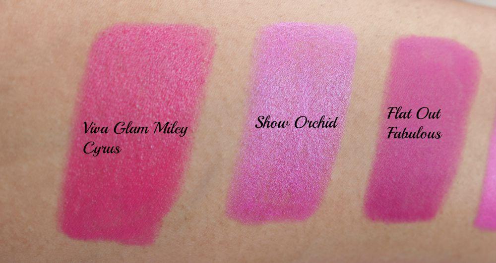 Dark pink lipstick mac