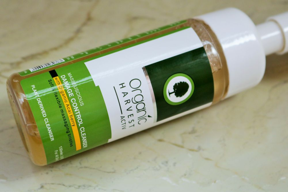 Organic Harvest Masseuscious Damage Control Cleanser