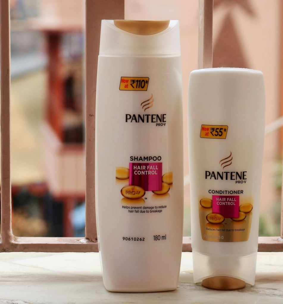 Pantene Hair Fall Control Shampoo and Conditioner
