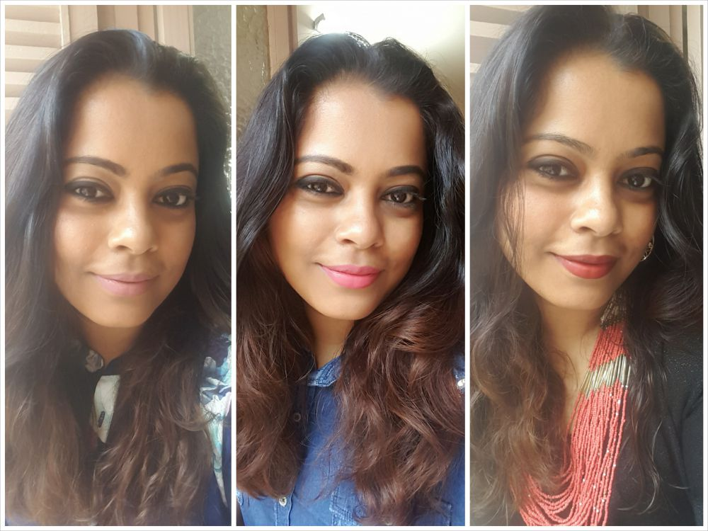 fotd-with-lakme-9-to-5-weightless-matte-mousse-lip-and-cheek-color