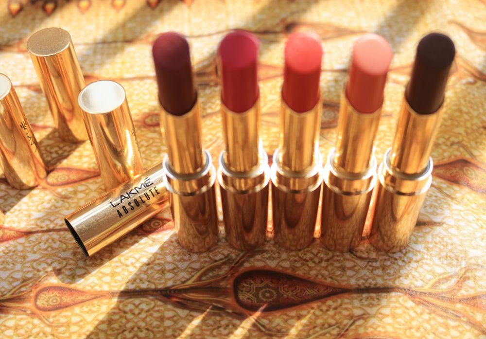 Lakme Argan Oil Lipsticks