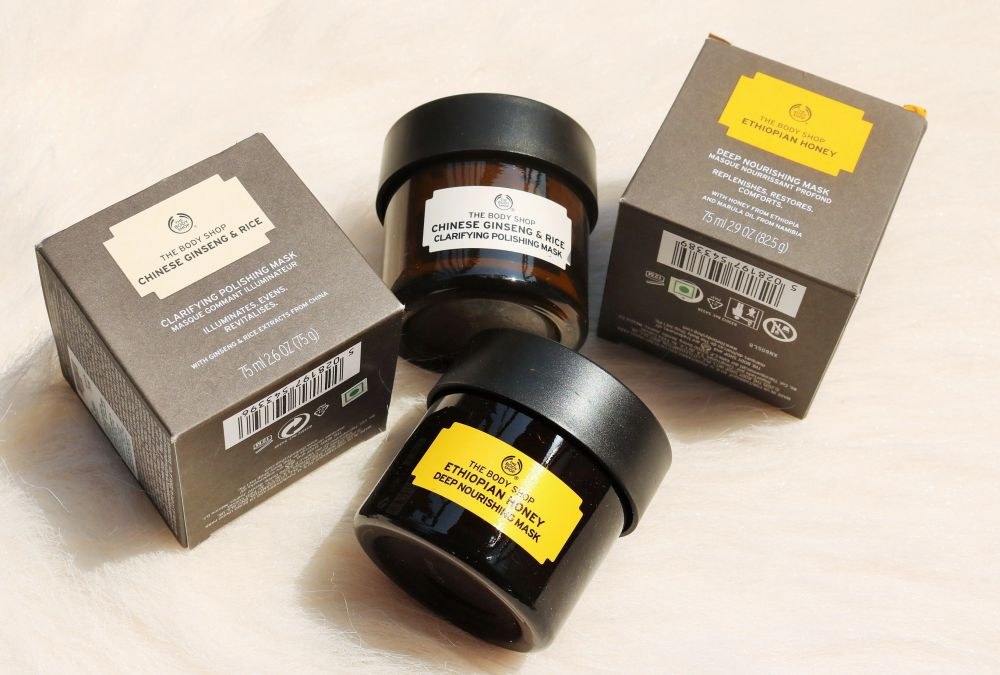 The Body Shop Recipes of Nature Masks