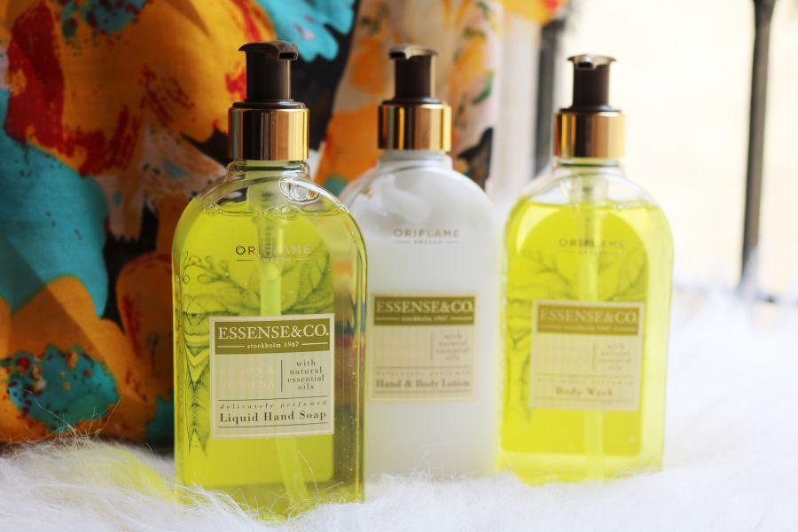 Oriflame Essense & Co. Lemon & Verbena range