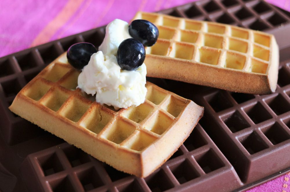 Tupperware Silicone Waffle Maker