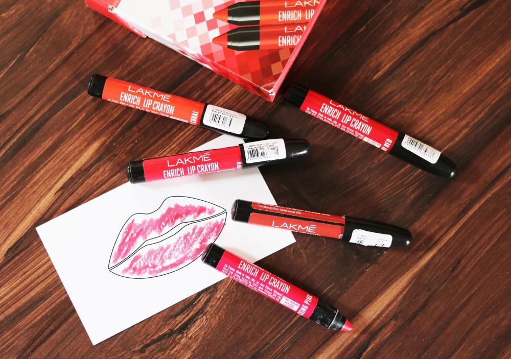 Lakme Enrich Lip Crayon