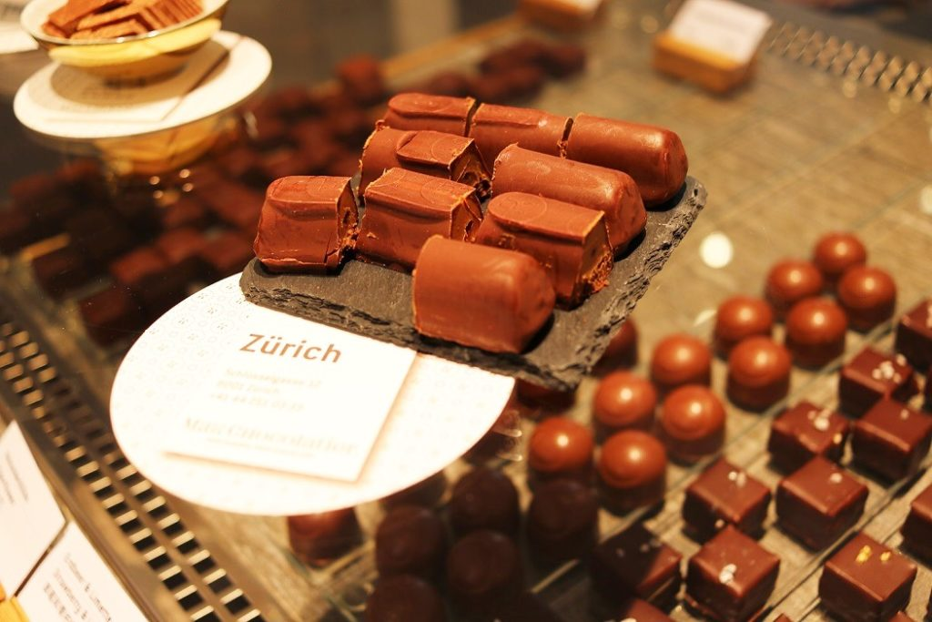Five Best Chocolate Shops in Zurich