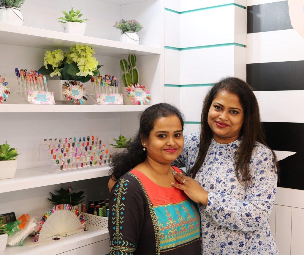 Women behind The Nail & Lash Bar