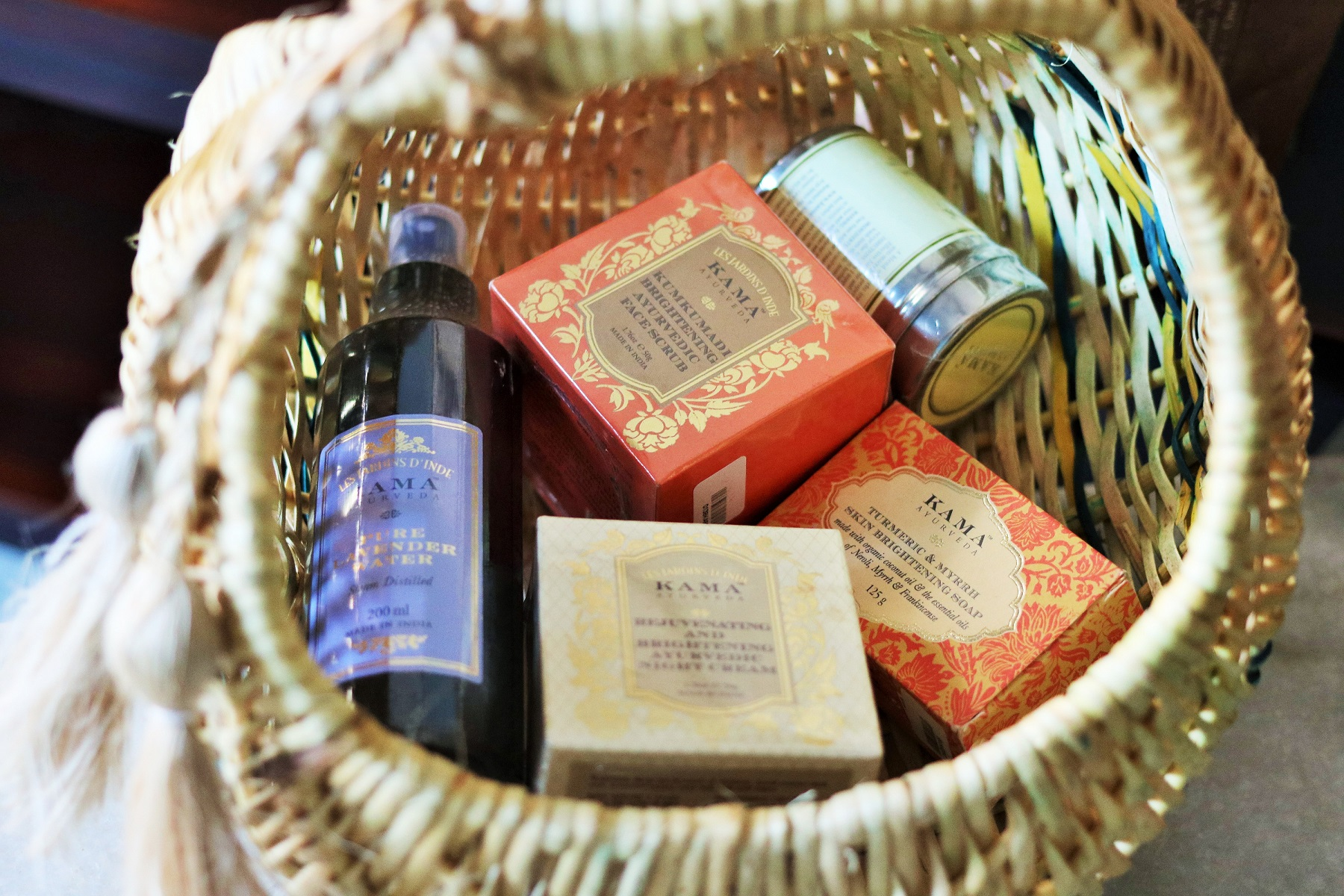 Skincare Routine With Kama Ayurveda