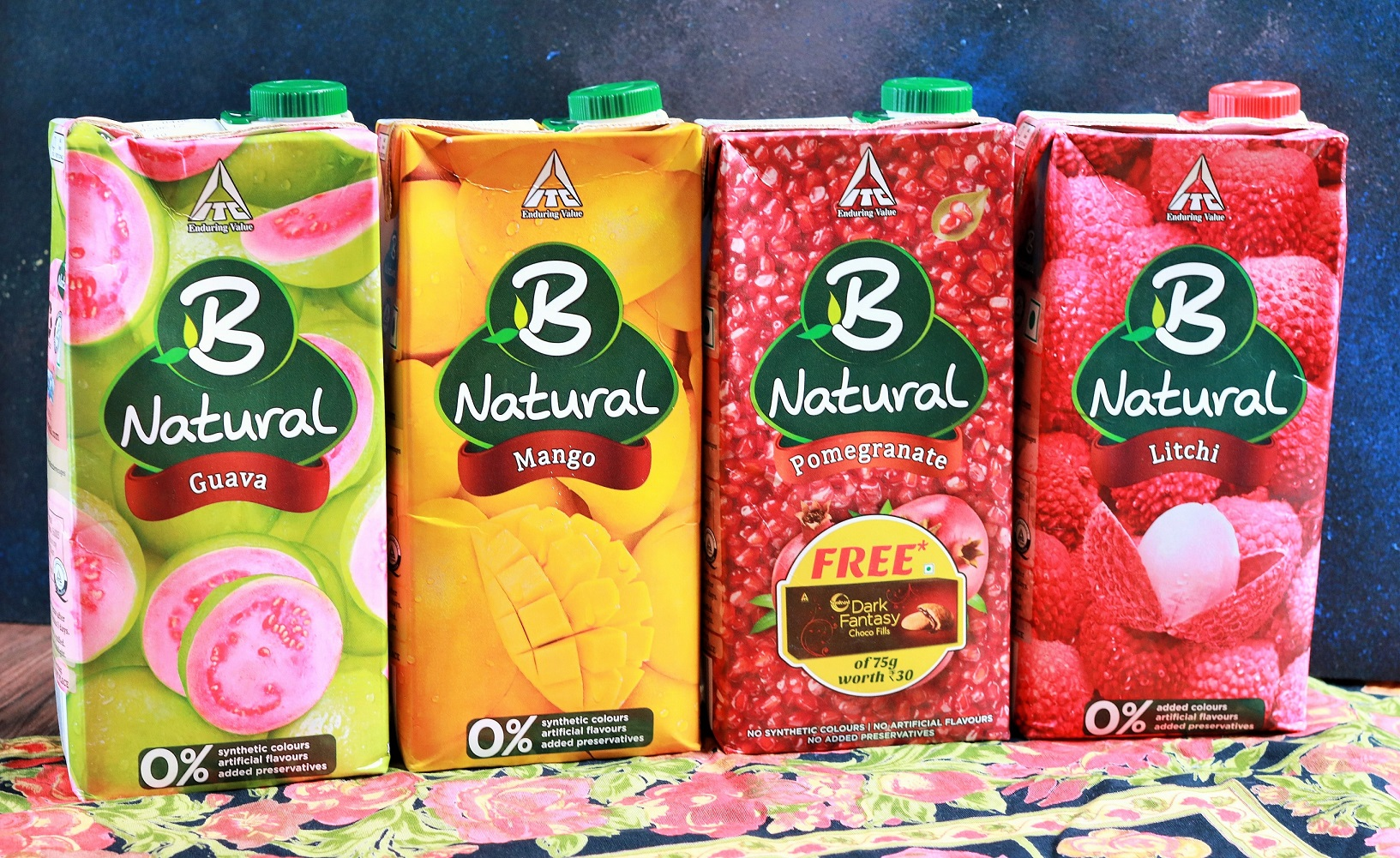 B Natural Fruit Juices