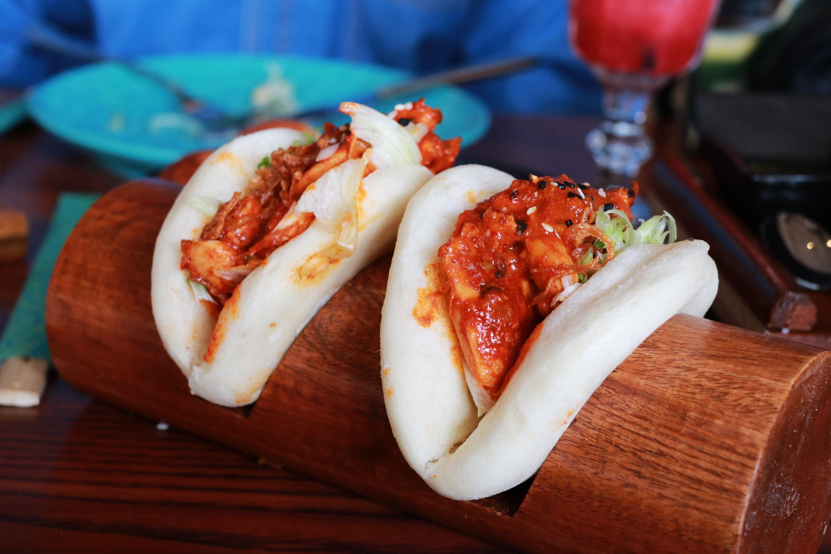 Grilled Sambal Bao