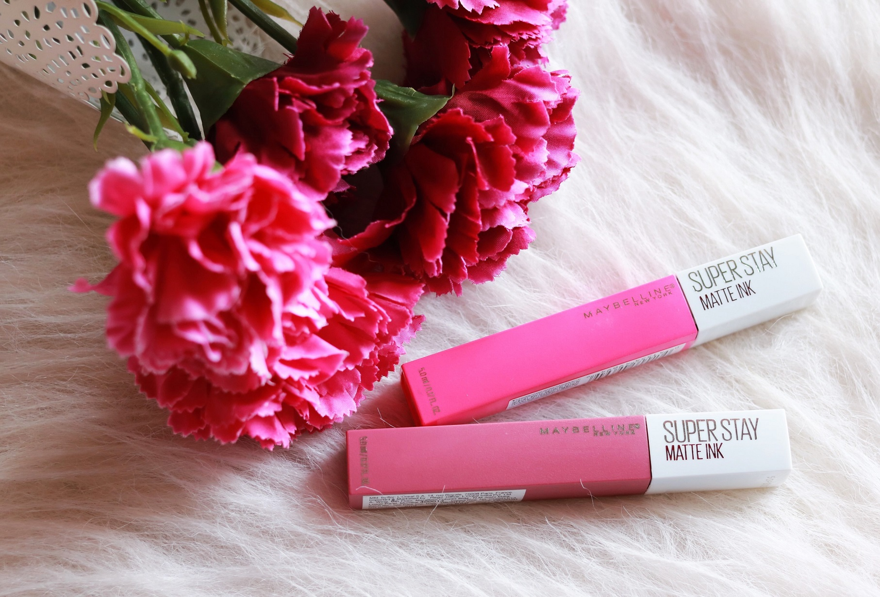 Maybelline Superstay Matte Ink Lover & Romantic