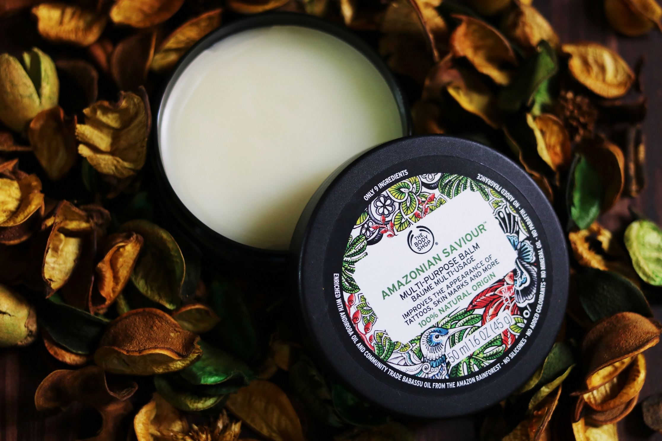 The Body Shop Amazonian Multi-Purpose Saviour Balm