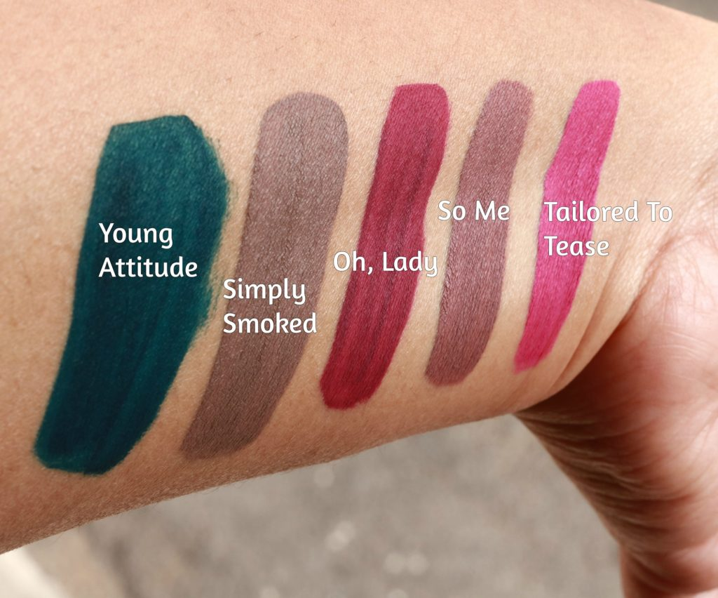 MAC Retro Matte Lipcolour Swatches