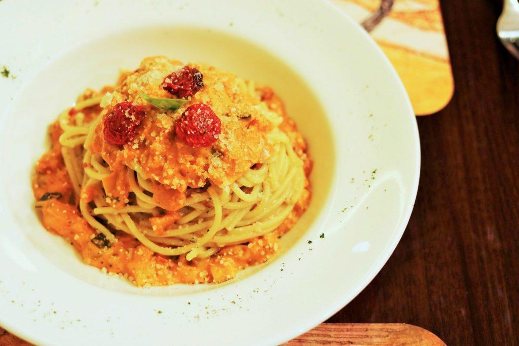 Cremoso Spaghetti Calabrese