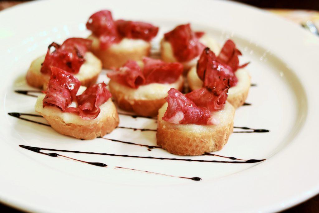 Crostini di Chorizo