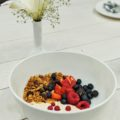 Doi, Berry and Kaos Granola Parfait