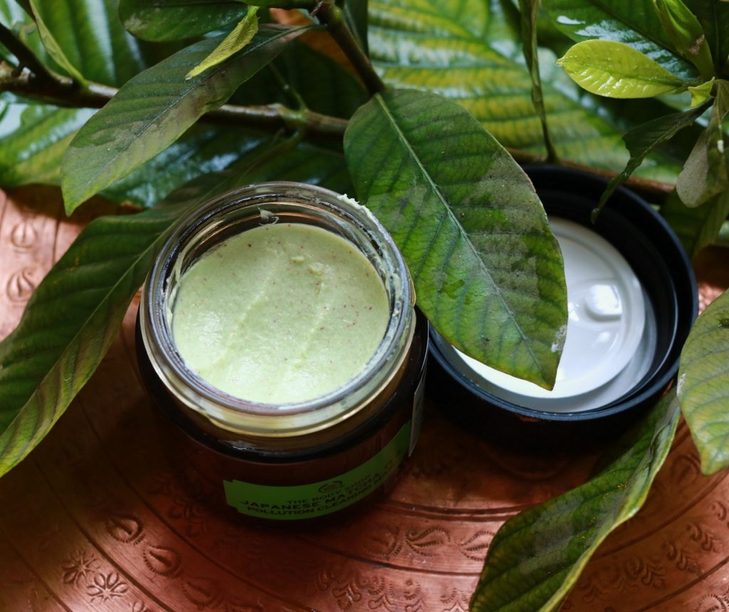 The Body Shop Matcha Tea Pollution Clearing Mask